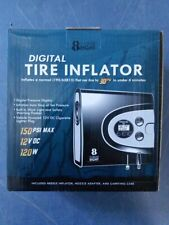 Auto Digital Tire Inflator – Electric 12v DC Portable Air Compressor