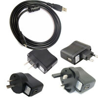 USB AC/ Power Adapter Battery Charger+USB cable For Panasonic DMC-TZ55 s Camera