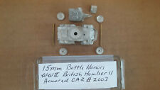15mm Battle Honors  WWII British Humber II Armored car