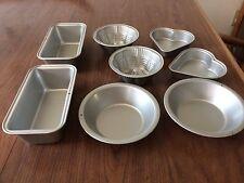 MIni Metal Baking Pans 8 Pieces
