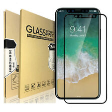 3D Panzer Glas für iPhone X Curved Display Schutz Folie Full Screen Echt Glass