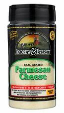 Andrew & Everett Hormone Free Grated Parmesan Cheese, 7 oz container