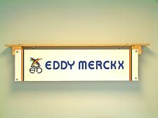 Eddy Merckx BANNER Cycle Workshop Advertising Road Race Bike