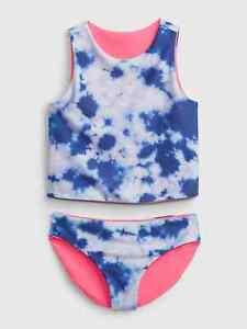 Gap Kids Girl's Reversible Tie Dye Two Piece Swim Suit NWT Various Sizes