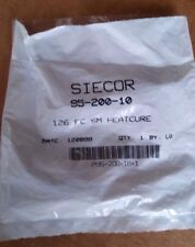Corning (Siecor) 95-200-10 Heatcure 126 FC SM Fiber Optic Connector