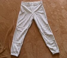 Rawlings Rbbp95 Baseball Pant White with Black Pinstripe Brand New Adult Size M
