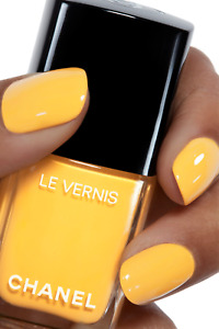 CHANEL LONGWEAR GIALLO NAPOLI 592 Marigold Yellow Nail Varnish New NO Box or CAP