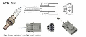 NGK NTK Oxygen Lambda Sensor OZA721-EE42 fits Nissan Pathfinder 3.3 V6 4x4 (R50)