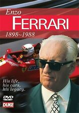 ENZO FERRARI 1898-1988 DVD. HIS LIFE, HIS CARS, HIS LEGACY. 52 MINS. DUKE 3678NV