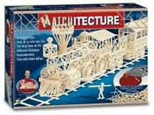 GOLD RUSH TRAIN matchstick model craft Kit matchitecture NEW