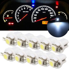 10x 12V T5 B8.5D 5050 1SMD Car LED Dashboard Dash Gauge Instrument Light Bulbs