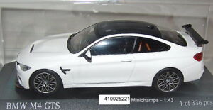 Minichamps 410025221 - BMW M4 GTS Coupe 2016 weiss - 1-43 -  neu OVP