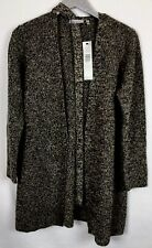 Anne Klein Brown Marled Wrap Sweater Sz Large NWT