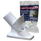 Betsy Flags 1 in. Flagpole Bracket 2 Position Flagpole Mount HDPE NEW