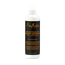 Shea Moisture African Black Soap Body Lotion Moisture Hydrate Smooth Skin 13oz
