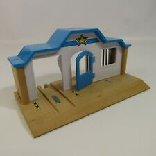 "Brio Wooden Railway Police Station 8.5"" Wood"