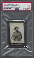1901 Ogden's Guinea Gold H Base Tobacco Card General Louis Botha Graded PSA 5