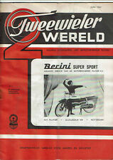 Tweewielerwereld 06-1961 - Dutch moped magazin - Kaptein Fiets-O-Matic