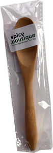 spice.boutique small sustainable bamboo SPOON ideal for tea or coffee, nice gift