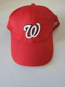 New Era Washington Nationals Cap, Snapback Adjustable Never Worn