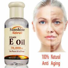 Natural Vitamin E Oil Hyaluronic Liquid Anti Aging Wrinkles Serum For Face Cream