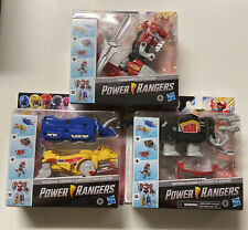 MMPR Mighty Morphin HASBRO Dinozords MEGAZORD 2020 Power Rangers Full Set New!