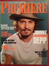 PREMIERE 07/09 Johnny Depp Michael Mann Harry Potter 6 Wes Anderson + Poster