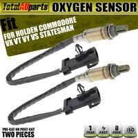 2x O2 Oxygen Sensors for Holden Commodore VX VT VY VS Statesman WH WK Monaro V2