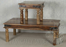 Jali Large Coffee Table Solid Sheesham Rosewood Listing is for 1 table