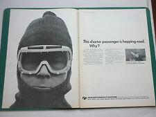3/1967 PUB HAWKER SIDDELEY AVIATION BEA TRIDENT AIRLINER ORIGINAL AD