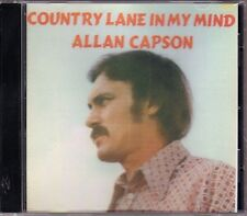 Allan Capson - Country Lane In My Mind  HTF Canadian Country Pop CD (New!)