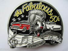 New Rock and roll belt buckle the fabulous 50s rocker rockabilly.