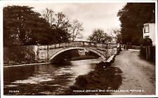 Romsey. Middle Bridge & Broadlands by Valentine's # 201354.