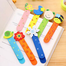 20 Pieces Wooden Cartoon Sahpe Bookmarks Bookmark Kid Gifts Stationery Book Mark