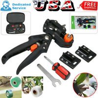 Professional Garden Grafting Pruning Cutting Fruit Tree Tools Kit Blade/Film US