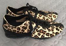 COLE HAAN Bria Leopard Print Women 6.5 B LACE UP Sneaker Casual Shoe