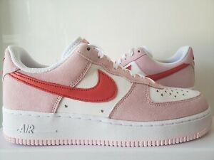 Nike Air Force 1 07 QS Valentine's Day Love Letter Size 7-13 DD3384-600