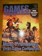 GAMES UNPLUGGED Magazine #3 Issue  Role Playing RPG Oct 2000