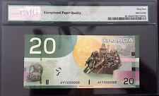 Canada 2004 $20 Bank of Canada Journey 5000000 Million PMG CH UNC64EPQ