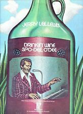 JERRY LEE LEWIS drinkin wine spo-dee US EX LP
