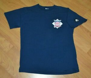 VTG Starter MLB National League Baseball Classic Logo T Shirt Medium 90s Nice NL
