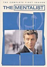 The Mentalist The Complete First Season DVD 2009 FACTORY SEALED NEW FREE S T US