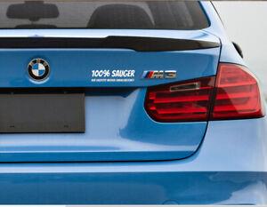 100% Sauger Auto Aufkleber Seitenscheibe Tuning Sticker  18x 2,8cm