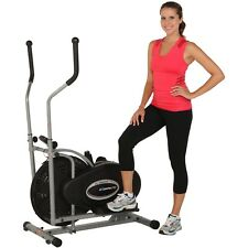 Compact Exercise Elliptical To Loose Fat And Cardio Fitness With LCD Indicators