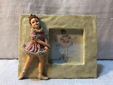 Boyds Yesterdays Child Dollstone Melissa The Ballet Dance Picture Frame 27553