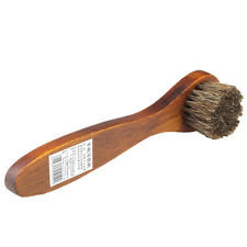 1X Long Wood Handle Bristle Brush Shoe Boot Polish Shine Cleaning Dauber ATAU