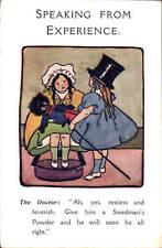 Advertising. Steedman's Powder. Medicine. Toy & Doctor.