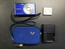 Sony SteadyShot DSC-W530 14.1MP Digital Camera - Blue