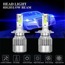 2x H4 LED Headlights 8000K For Toyota 4Runner Sienna Tundra HID Blue Hi/Lo Beam