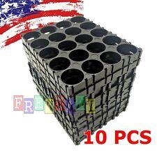 10X 18650 Battery Pack Spacer Radiating Shell Plastic Holder Bracket 18.4mm US